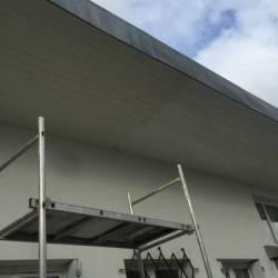 peinture exterieure dessous de toit